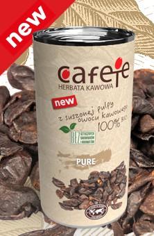 Cafete herbata kawowa - pure (bez dodatków)