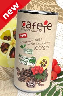Cafete herbata kawowa - z dodatkiem pigwy i jarzębiny